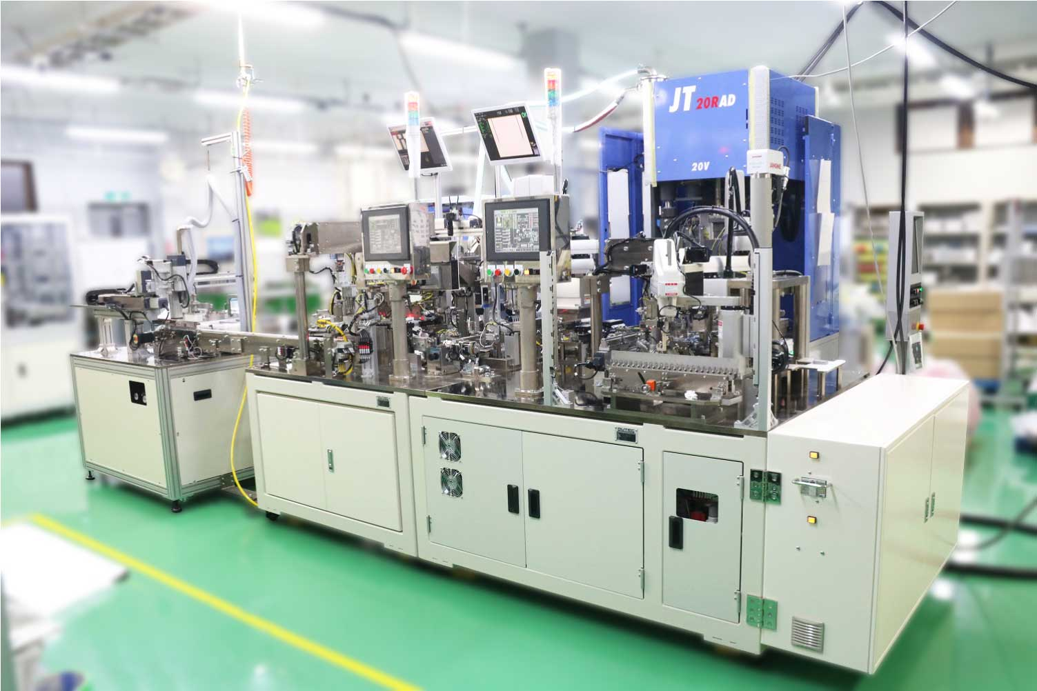Differentiation from competitors ~Contribute to factory automation with ultra high speed machines, skills of assembling fine parts and image processing!~